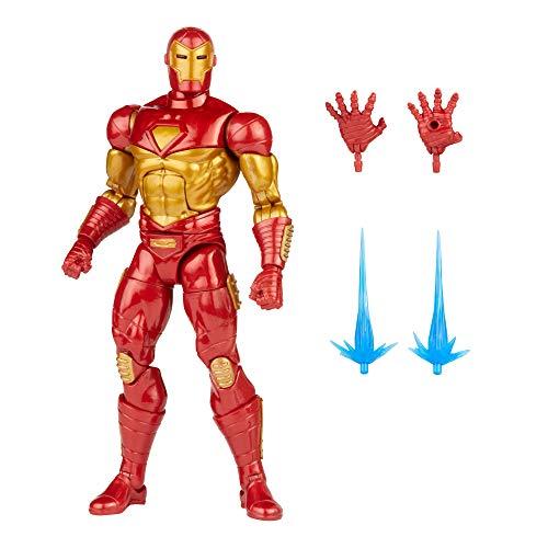 Hasbro Marvel Legends Series - Figura de Iron Man Modular de 15 cm - Diseño Premium - 4 Accesorios...