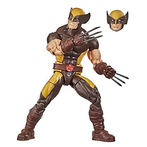 Hasbro Figura de acción Coleccionable de 15cm de Lobezno de X-Men Marvel Legends Series, con...