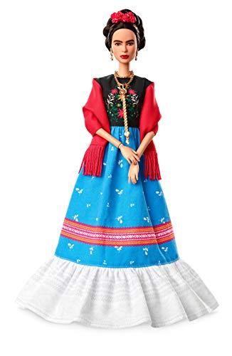 Barbie Collector, muñeca Frida Khalo de 'Grandes Mujeres' (Mattel FJH65) , color/modelo surtido