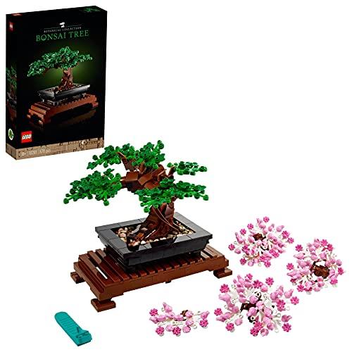 LEGO10281CreatorExpertBotanicalBonsáiSetdeConstrucciónManualidadesparaAdultos...