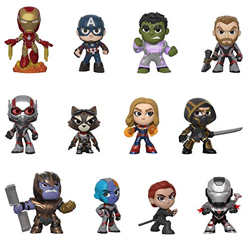 Funko- Mystery Mini Blind Box: Avengers Endgame: Styles Will Vary Marvel Vengadores Collectible...