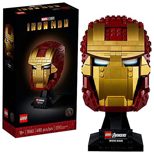 LEGO 76165 Marvel Vengadores El Casco de Iron Man Set de Construcción para Adultos Modelo de...