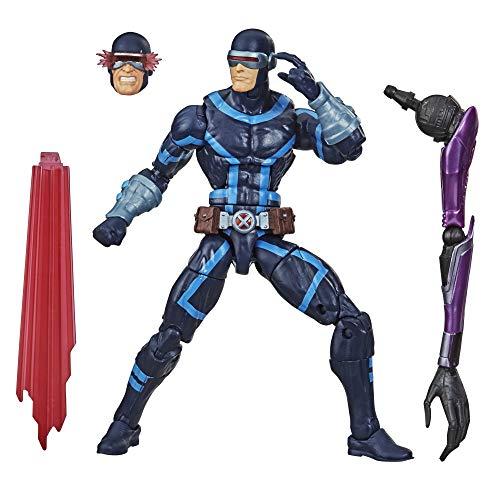 Marvel Figura de acción Coleccionable de Cíclope de X-Men de 15cm de Hasbro Legends Series, con...