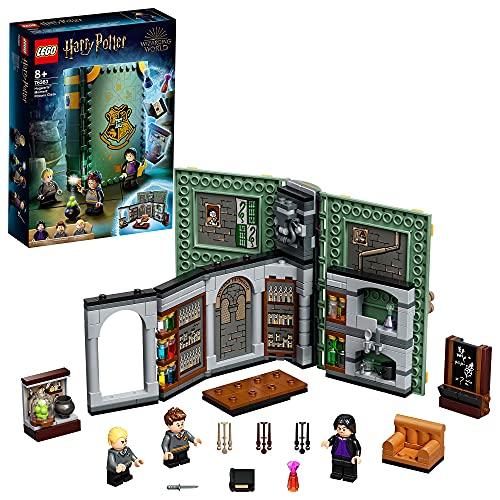 LEGO76383HarryPotterMomentoHogwarts:ClasedePociones,LibrodeJugueteColeccionab...