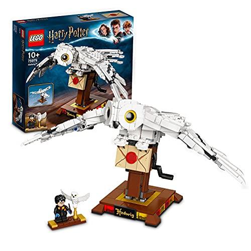 LEGO75979HarryPotterHedwigJuguetedeConstruccióndeLechuzaconAlasMóvilesMod...