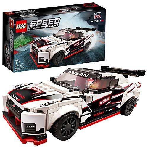 LEGO 76896 SpeedChampions NissanGT-RNISMO, Juguete de Construcción de Icónico Coche de...