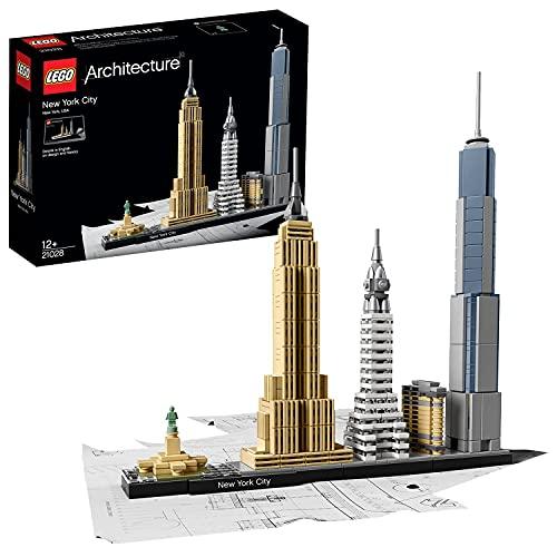 LEGO21028ArchitectureSkylineCollectionCiudaddeNuevaYorkSetdeConstrucciónMode...