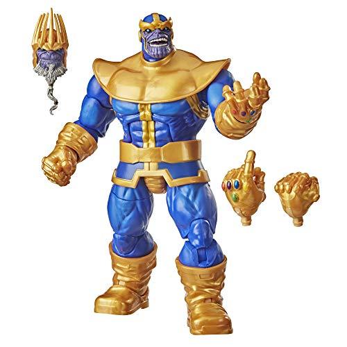 Marvel Hasbro Legends Series - Figura Coleccionable de Thanos de 15 cm - Diseño Premium y 3...
