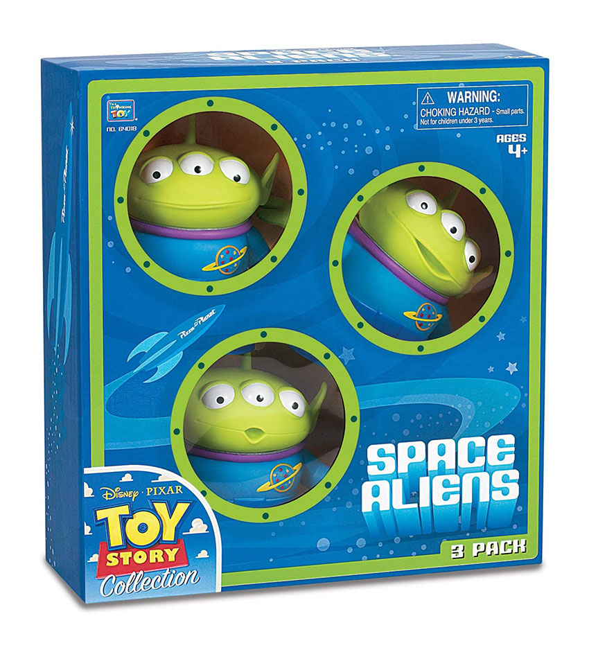 Muñecos de Aliens realistas Toy Story Signature Collection