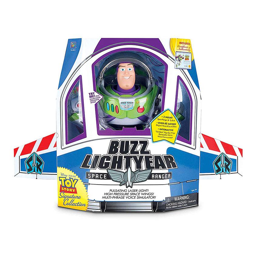 Muñeco de Buzz Lightyear realista Toy Story