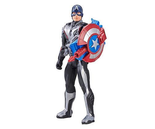 Muñeco de Captain America Titan Heroes