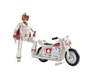 Muñeco Duke Caboom con moto Toy Story 4