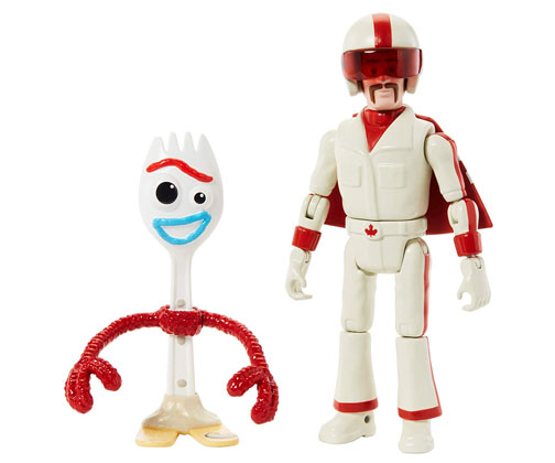 Forky y Duke Caboom Toy Story 4