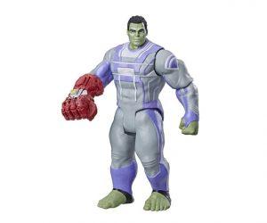 Muñeco de Hulk con guante Avengers Endgame