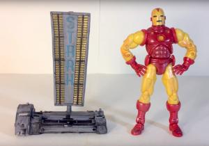 Muñeco de Iron Man Marvel Legends
