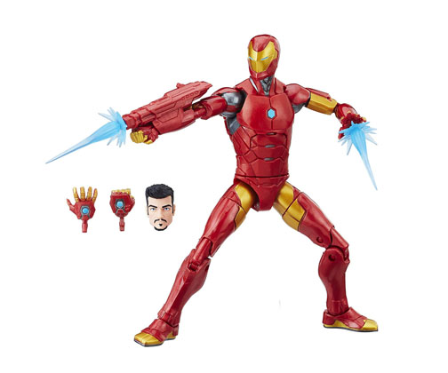 Muñeco Invincible Iron Man Marvel Legends