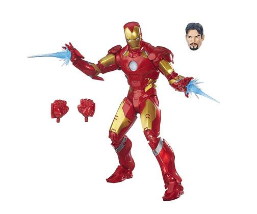 Muñeco Iron Man Marvel Legends Avengers