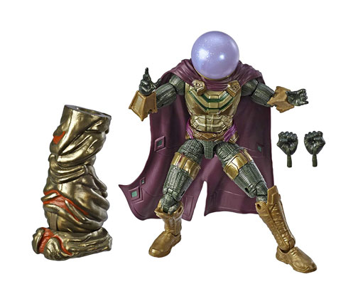 Muñeco de Spider-Man Far From Home de Marvel Legends Mysterio
