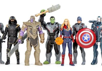 Muñecos de Avengers: Endgame