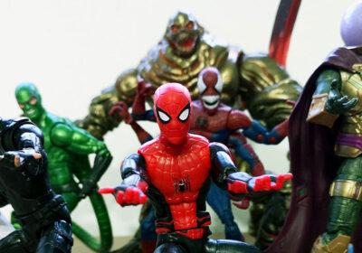 Muñecos de Spider-Man Far from Home