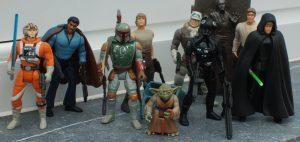 Muñecos de Star Wars POTF
