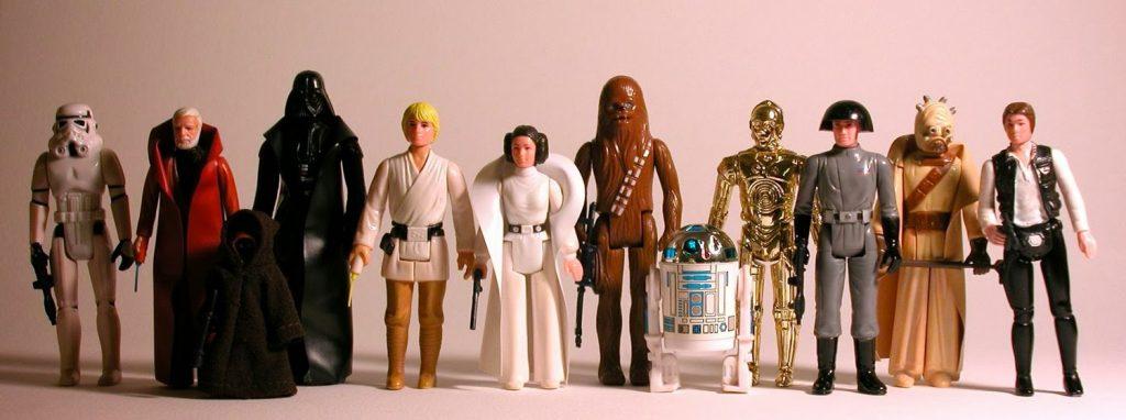 Muñecos de Star Wars vintage