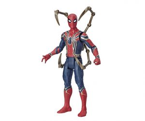 Muñeco Spiderman Iron Spider Avengers Endgame