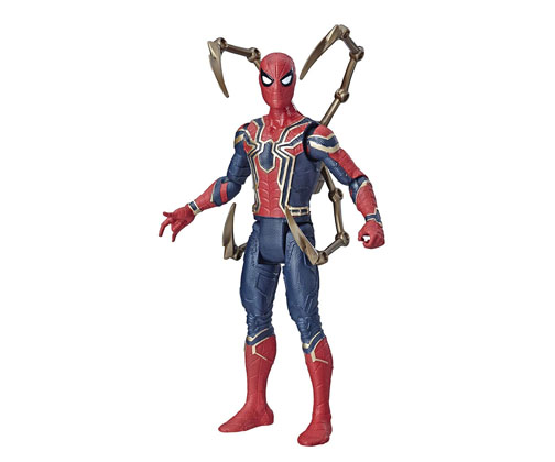 Muñeco Spiderman Iron Spider Avengers Endgame