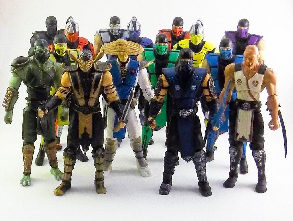 Muñecos de Mortal Kombat de Jazwares