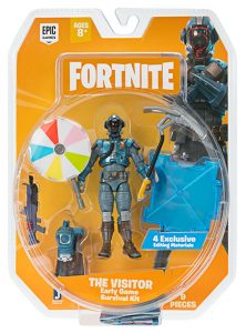 Muñeco de Fortnite Early Game Survival The Visitor