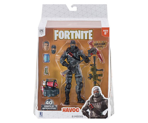 Muñeco de Fortnite Jazwares Legendary Series Havoc