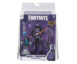 Muñeco de Fortnite Jazwares Legendary Series Skull Trooper