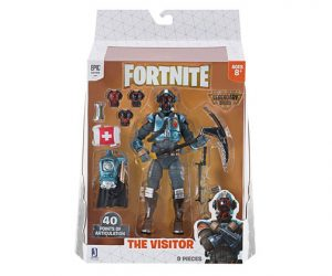 Muñeco de Fortnite Jazwares Legendary Series The Visitor