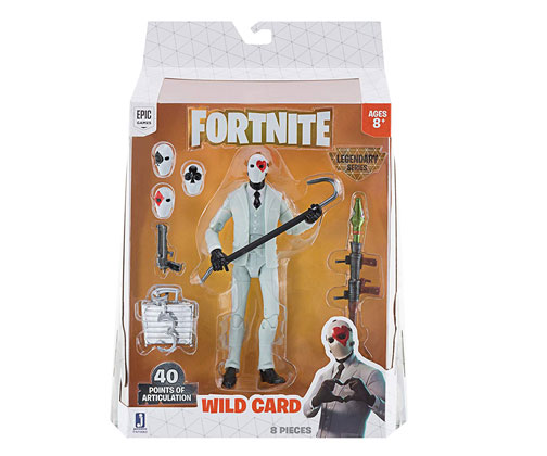 Muñeco de Fortnite Jazwares Legendary Series Wild Card