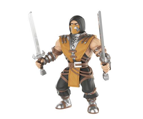 Muñeco Mortal Kombat Scorpion