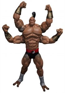 Muñeco de Mortal Kombat Goro Storm Collectibles