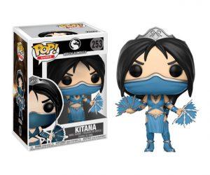 Muñeco de Mortal Kombat Funko Pop Kitana