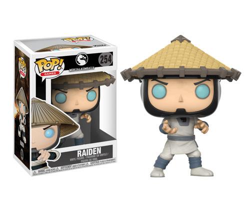 Muñeco de Mortal Kombat Funko Pop Raiden
