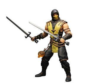 Muñeco de Mortal Kombat Mezco Scorpion