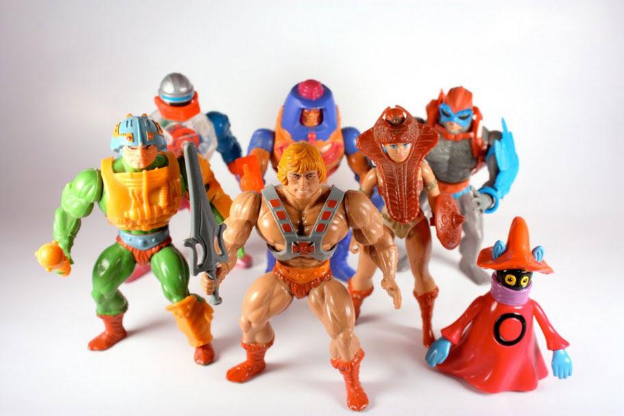 Muñecos de He-Man vintage