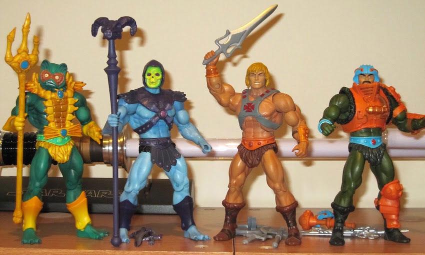 Muñecos de He-Man Masters of the Universe Classics o MOTUC
