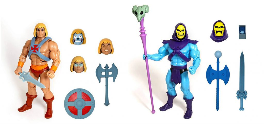 Muñecos de He-Man Club Grayskull de Super7