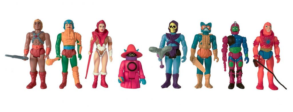 Muñecos de He-Man Super7 ReAction