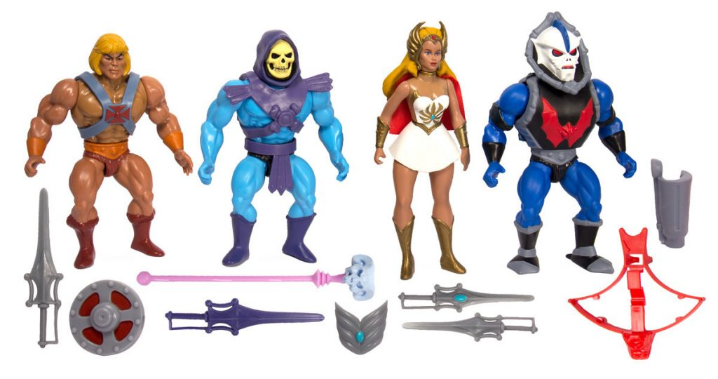 Muñecos de He-Man Super7 Vintage Collection