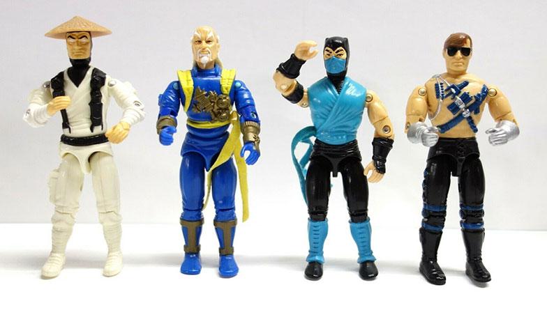 Muñecos de Mortal Kombat de Hasbro