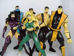 Muñecos de Mortal Kombat de Infinite Concepts