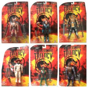 Muñecos de Mortal Kombat de Toy Island