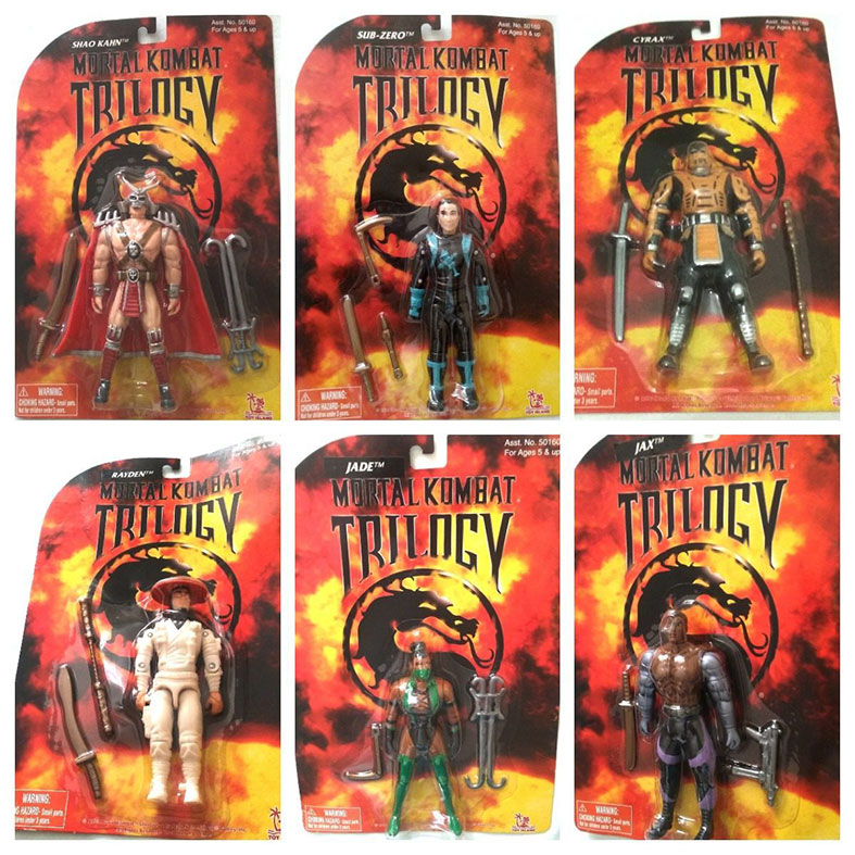 Muñecos de Mortal Kombat de 6 pulgadas de Toy Island