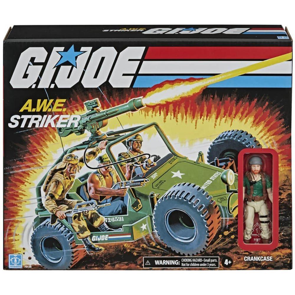 G.I.Joe Retro Collection: A.W.E. Striker en caja