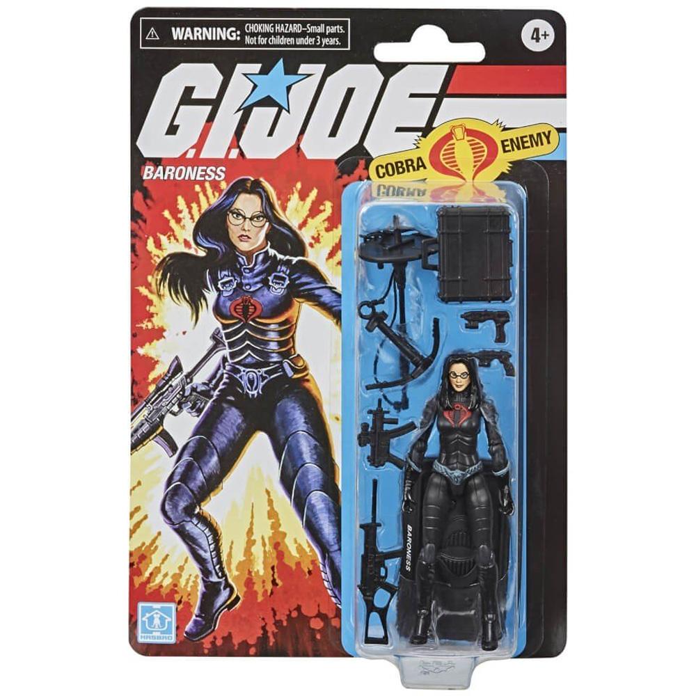 G.I.Joe Retro Collection: Baroness en blister